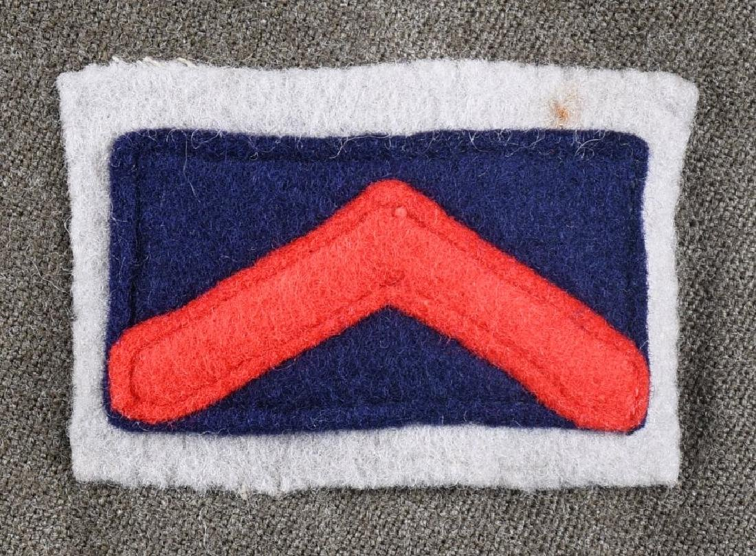 WWII IDENTIFIED AUSTRALIAN OFFICER DRESS UNIFORM - 6