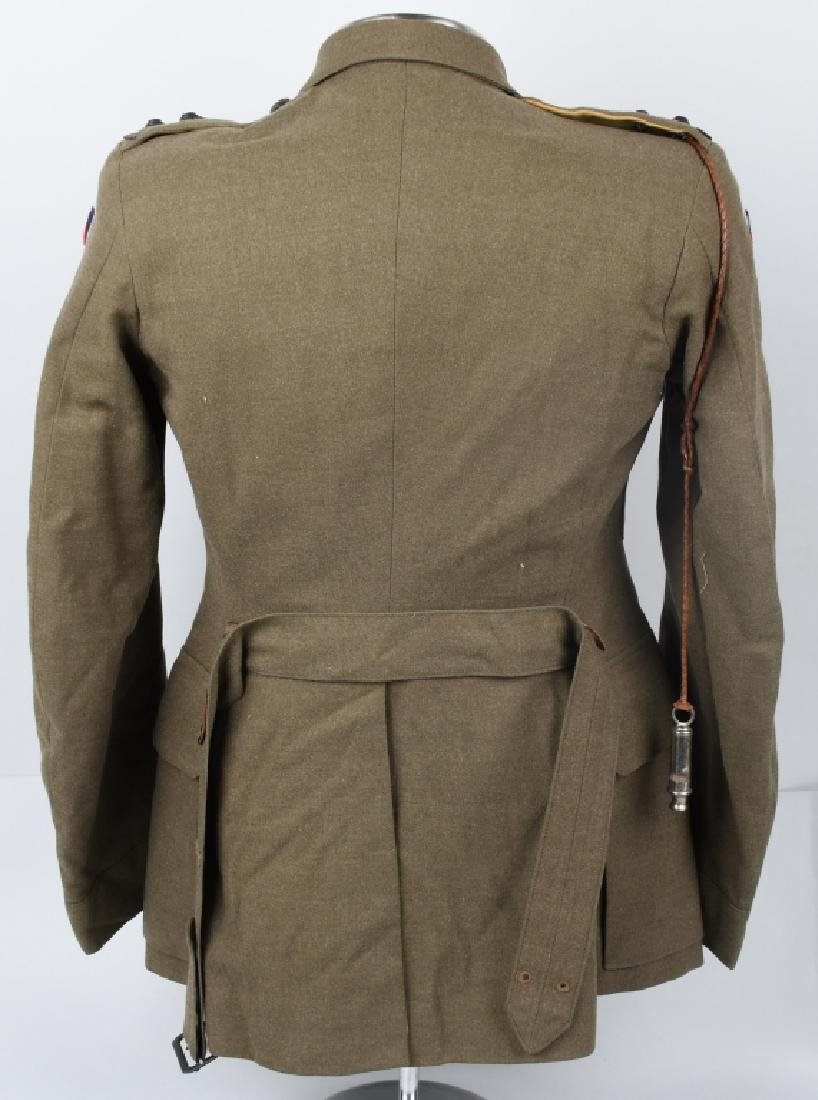 WWII IDENTIFIED AUSTRALIAN OFFICER DRESS UNIFORM - 7