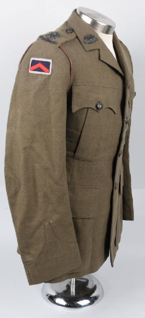 WWII IDENTIFIED AUSTRALIAN OFFICER DRESS UNIFORM - 8