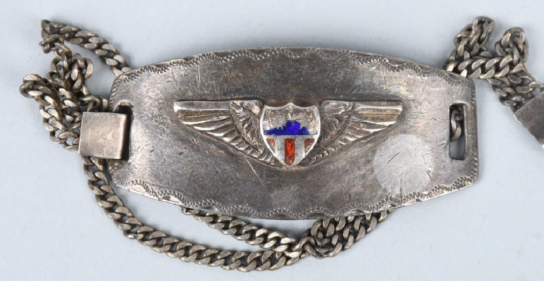 WWII U.S. ARMY CBI & 5TH AAF ID BRACELET LOT (4) - 2