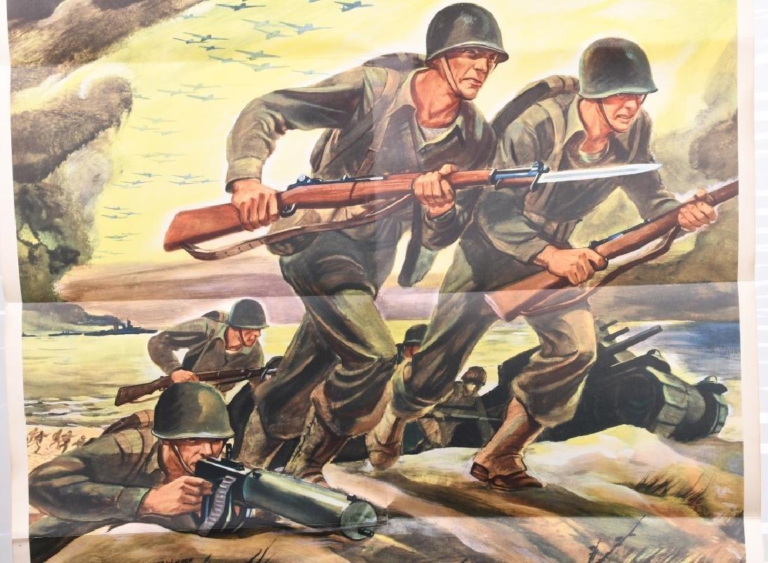 WWII U.S. WAR BONDS POSTER BY FERDINAND WARD 1942 - 2