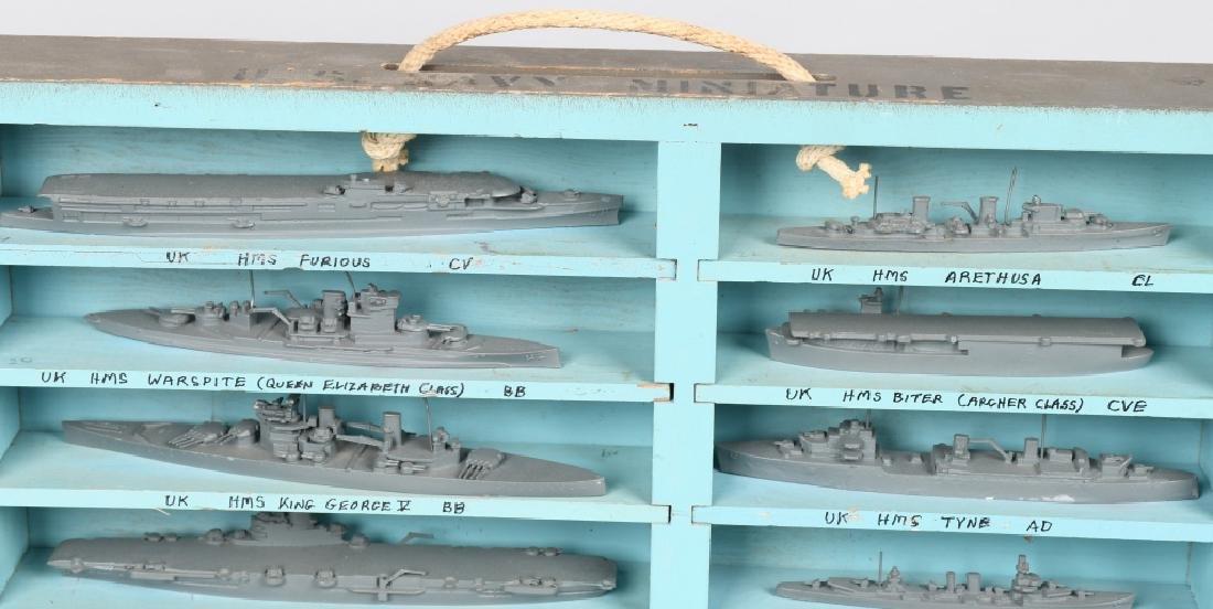 WWII U.S. NAVY SHIP IDENTIFICATION MODELS BRITISH - 4
