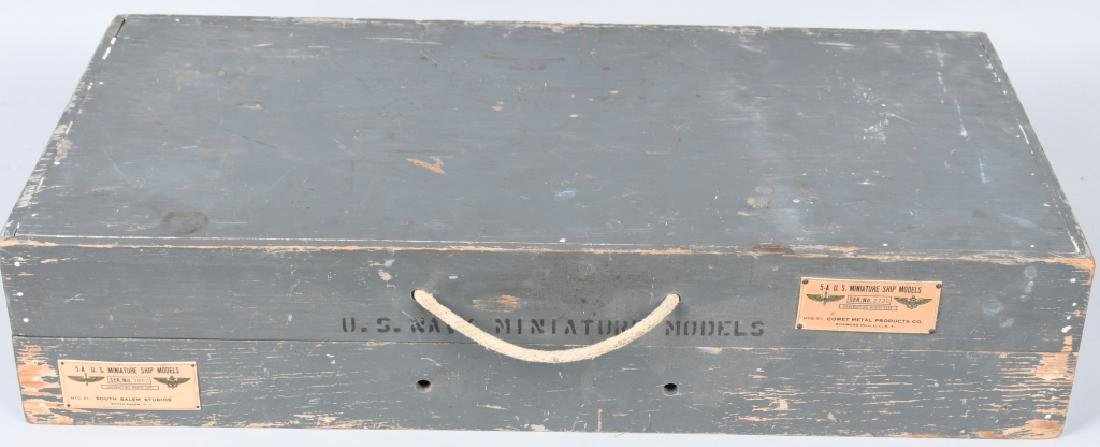 WWII U.S. NAVY SHIP IDENTIFICATION MODELS - U.S. - 10