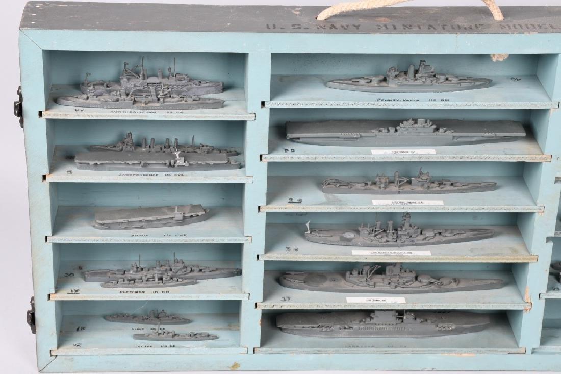 WWII U.S. NAVY SHIP IDENTIFICATION MODELS - U.S. - 2