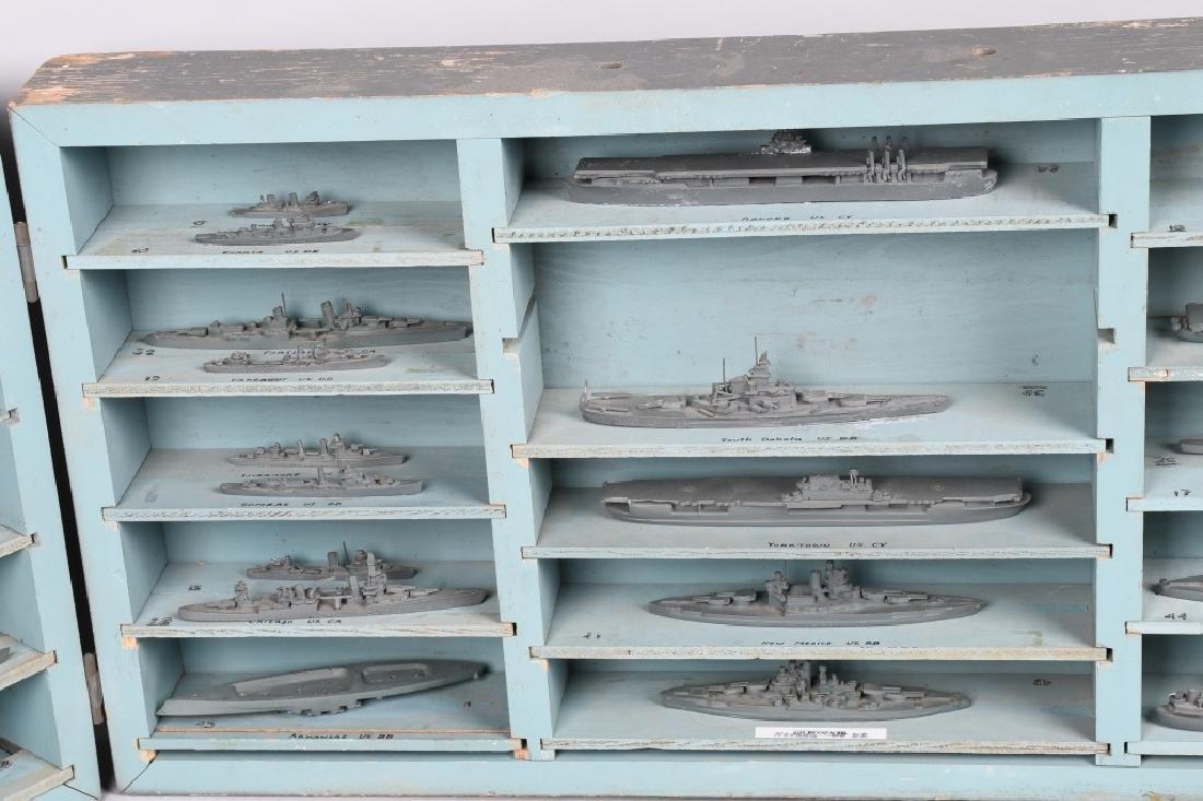 WWII U.S. NAVY SHIP IDENTIFICATION MODELS - U.S. - 4