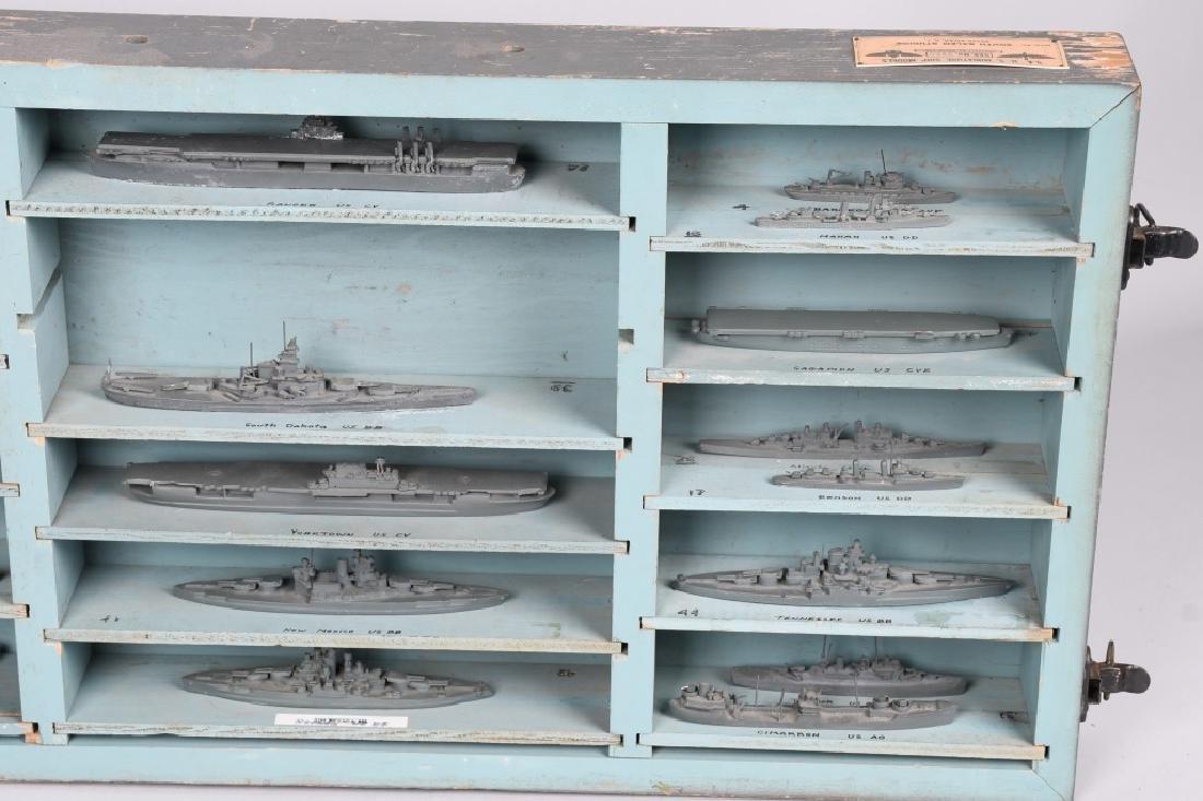 WWII U.S. NAVY SHIP IDENTIFICATION MODELS - U.S. - 5
