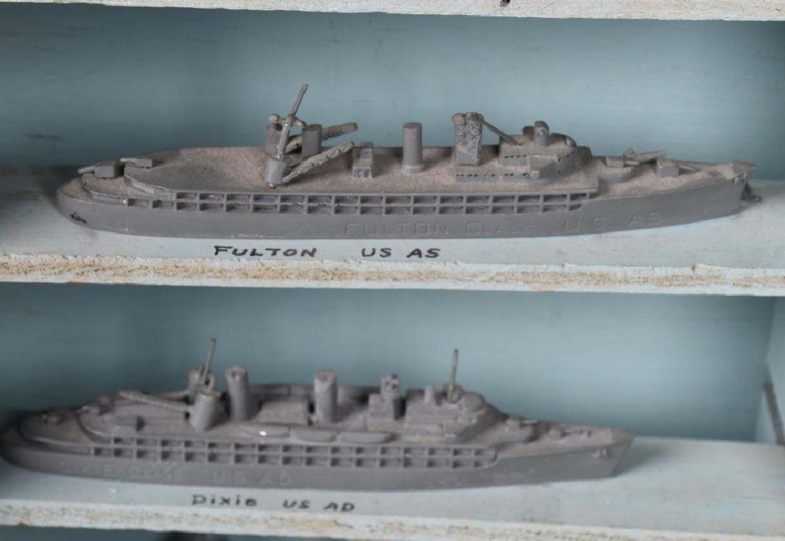 WWII U.S. NAVY SHIP IDENTIFICATION MODELS - U.S. - 6