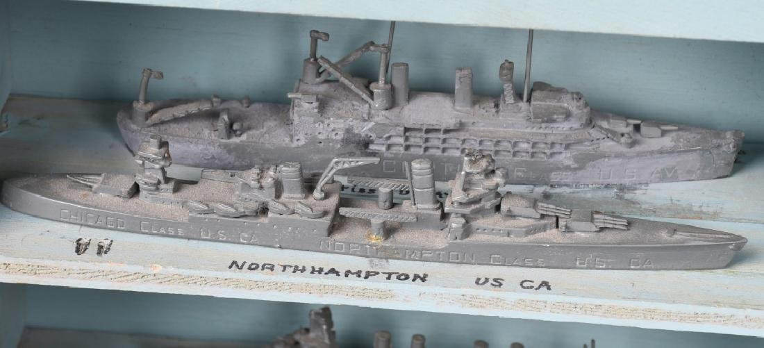 WWII U.S. NAVY SHIP IDENTIFICATION MODELS - U.S. - 7
