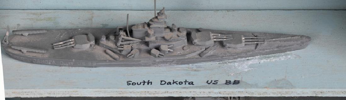 WWII U.S. NAVY SHIP IDENTIFICATION MODELS - U.S. - 9