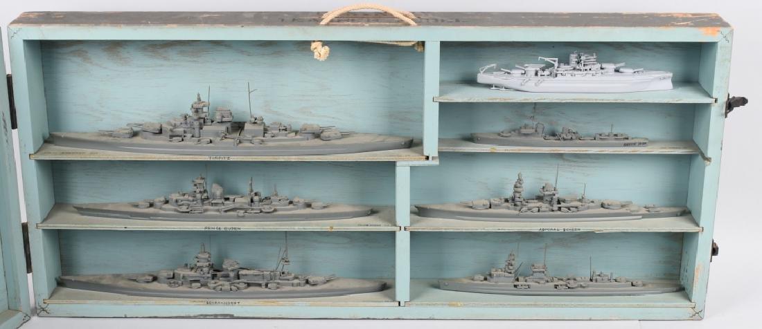 WWII U.S. NAVY SHIP IDENTIFICATION MODELS GERMAN