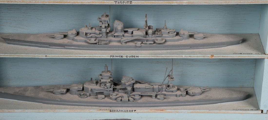 WWII U.S. NAVY SHIP IDENTIFICATION MODELS GERMAN - 3