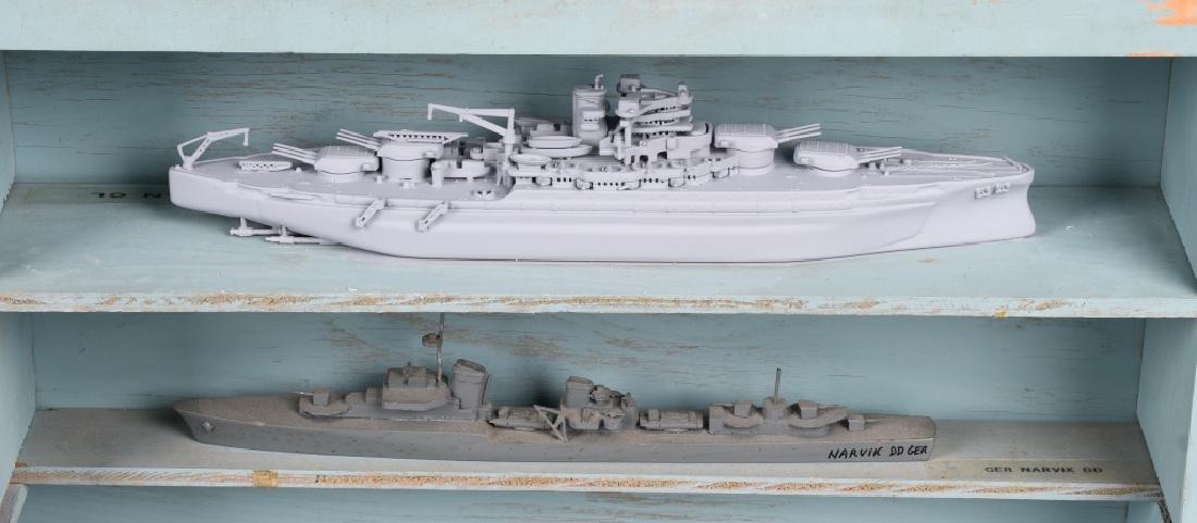WWII U.S. NAVY SHIP IDENTIFICATION MODELS GERMAN - 4