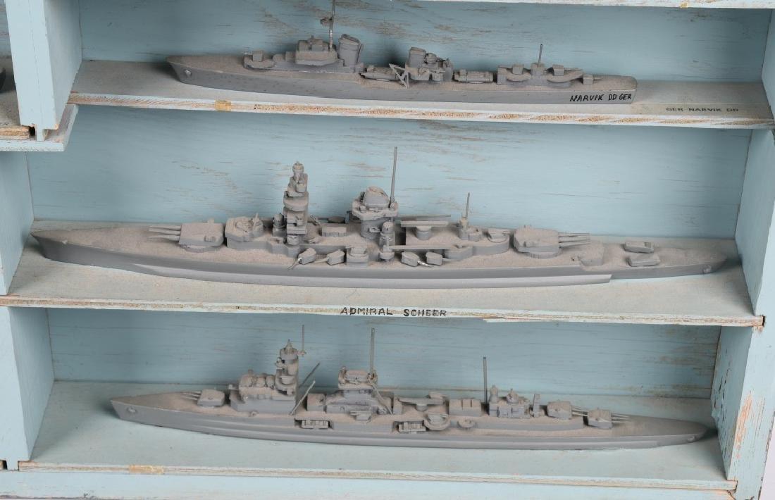 WWII U.S. NAVY SHIP IDENTIFICATION MODELS GERMAN - 6