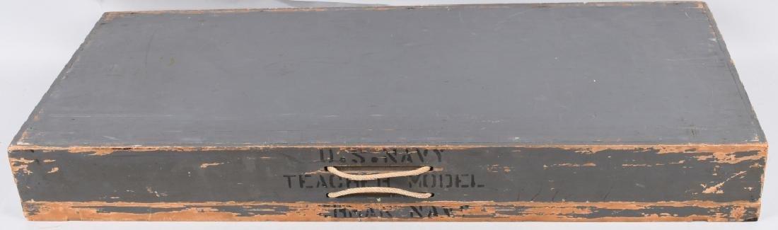 WWII U.S. NAVY SHIP IDENTIFICATION MODELS GERMAN - 7