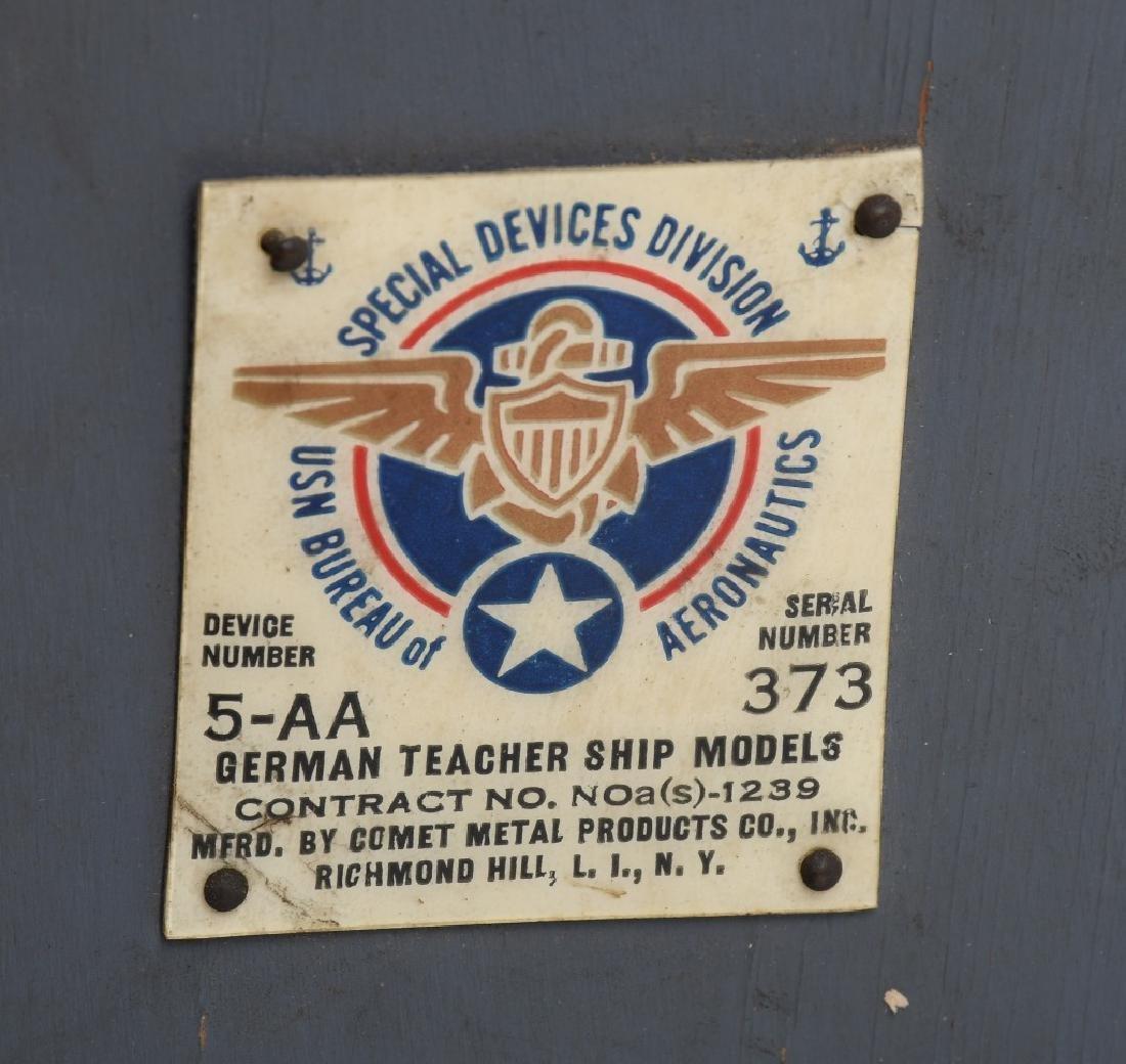 WWII U.S. NAVY SHIP IDENTIFICATION MODELS GERMAN - 9