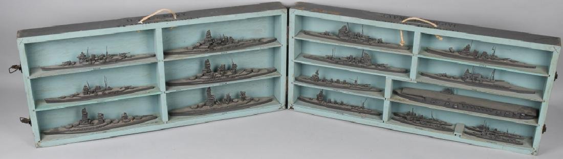 WWII U.S. NAVY SHIP IDENTIFICATION MODELS JAPANESE