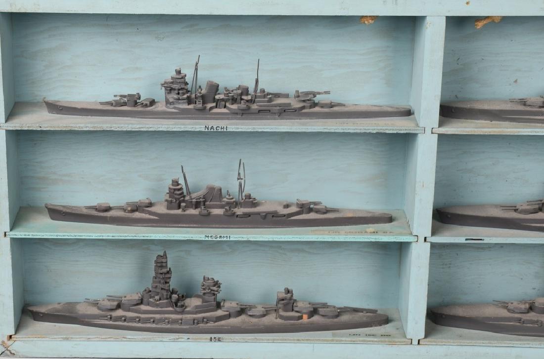 WWII U.S. NAVY SHIP IDENTIFICATION MODELS JAPANESE - 2