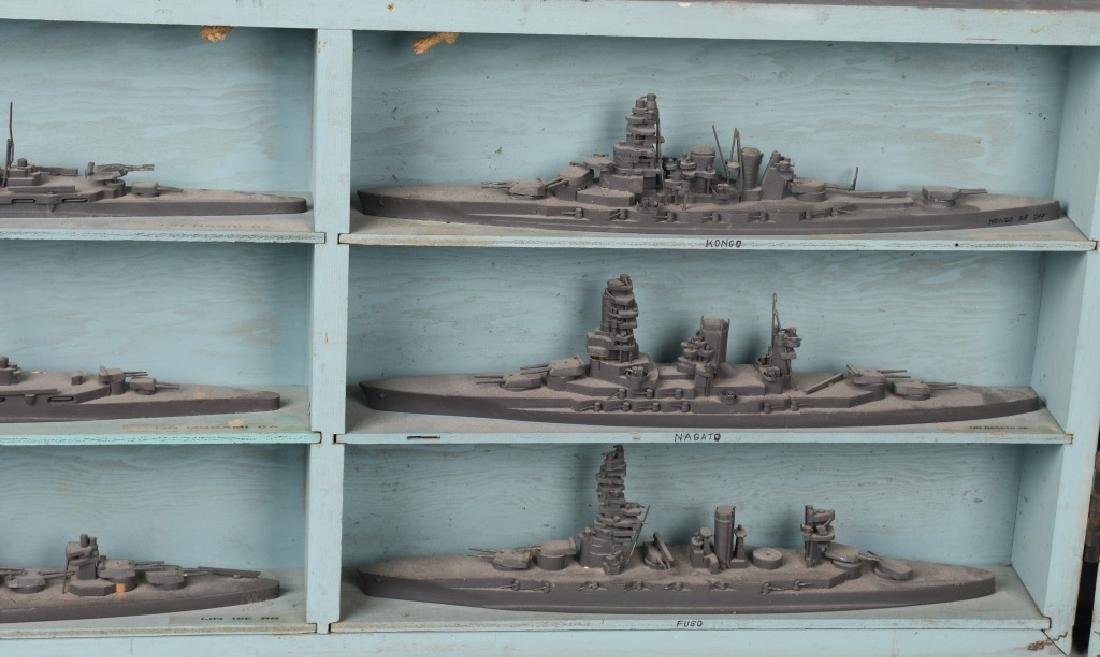 WWII U.S. NAVY SHIP IDENTIFICATION MODELS JAPANESE - 3