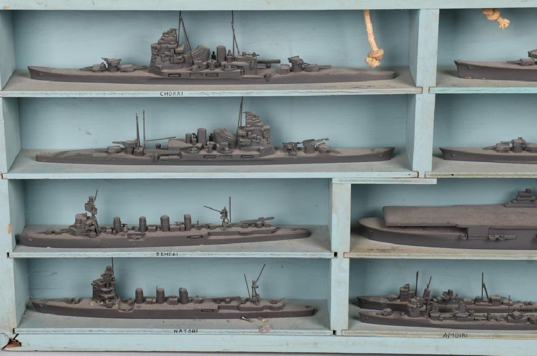 WWII U.S. NAVY SHIP IDENTIFICATION MODELS JAPANESE - 4