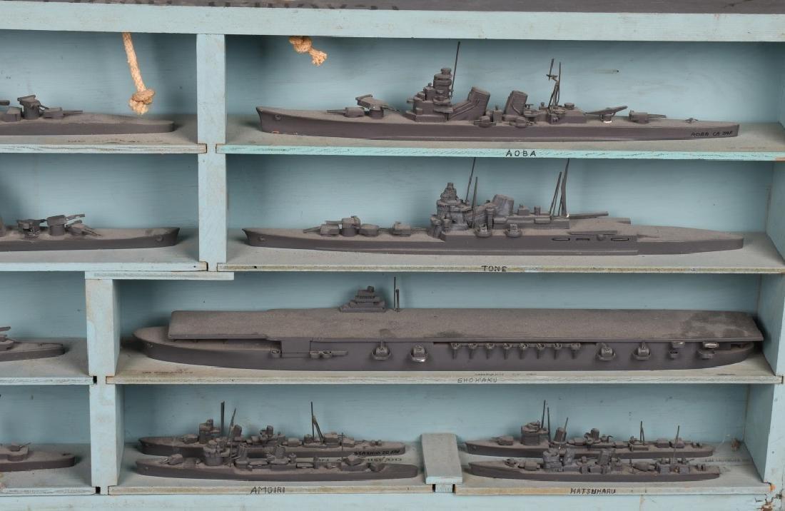 WWII U.S. NAVY SHIP IDENTIFICATION MODELS JAPANESE - 5