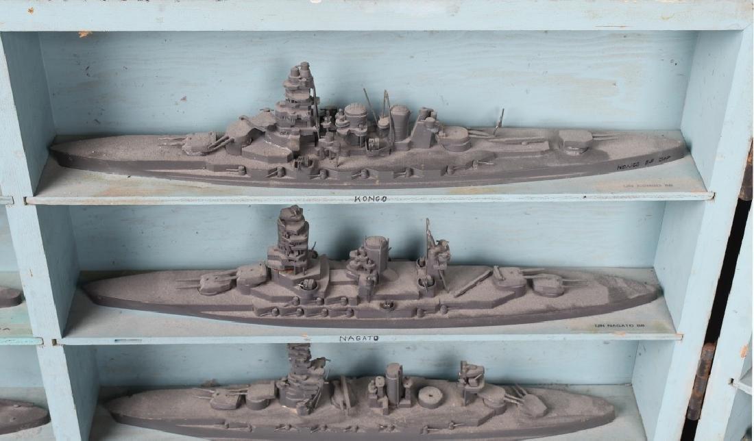 WWII U.S. NAVY SHIP IDENTIFICATION MODELS JAPANESE - 6