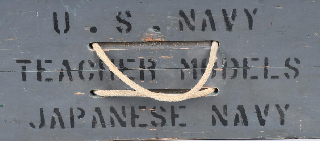 WWII U.S. NAVY SHIP IDENTIFICATION MODELS JAPANESE - 8