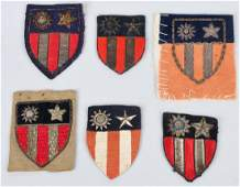 WWII US ARMY CBI THEATER MADE PATCH LOT