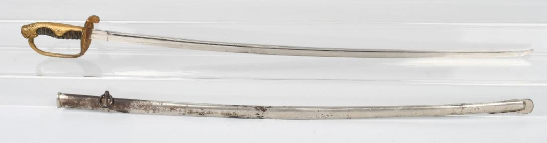 WWII JAPANESE OFFICER SWORD AND SCABBARD