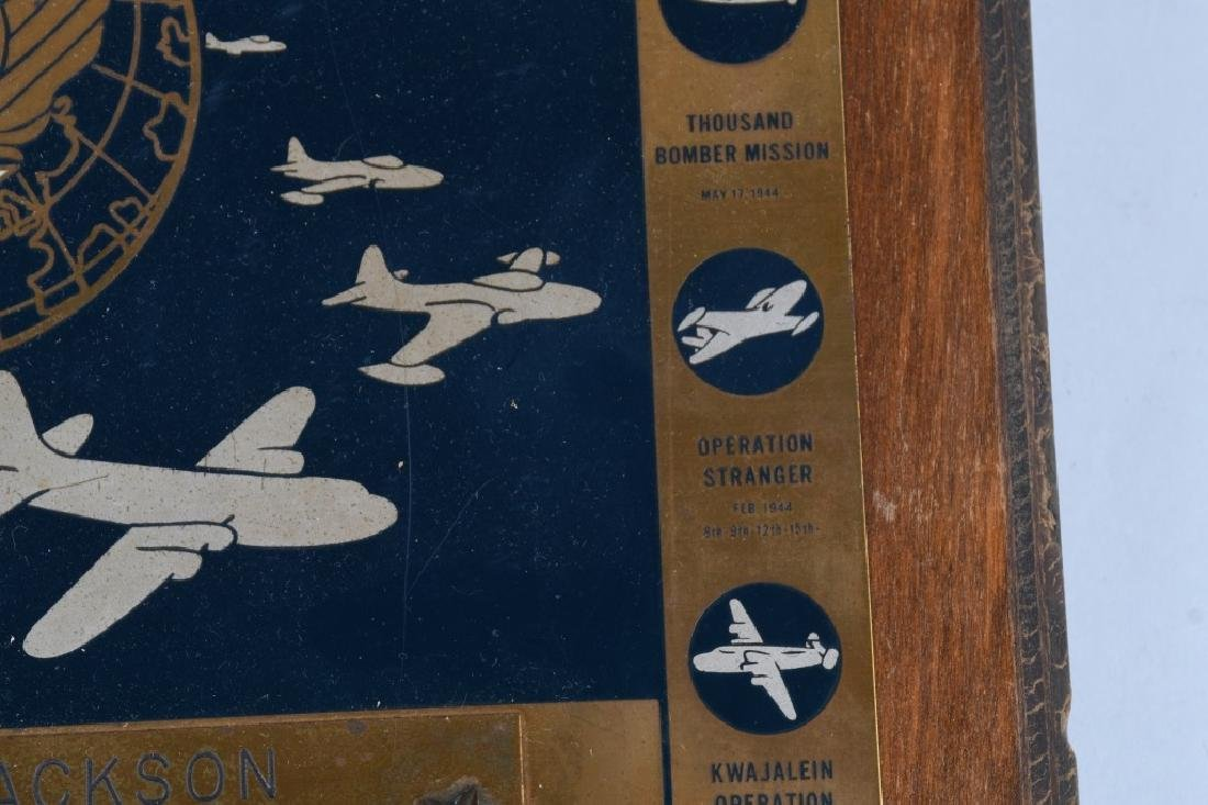 POST WWII US AIR FORCE PLAQUE. 10-15-48 - 5