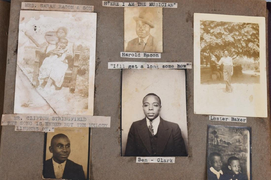 U.S. MISC PHOTO ALBUM & PHOTO - AFRICAN AMERICAN - 2