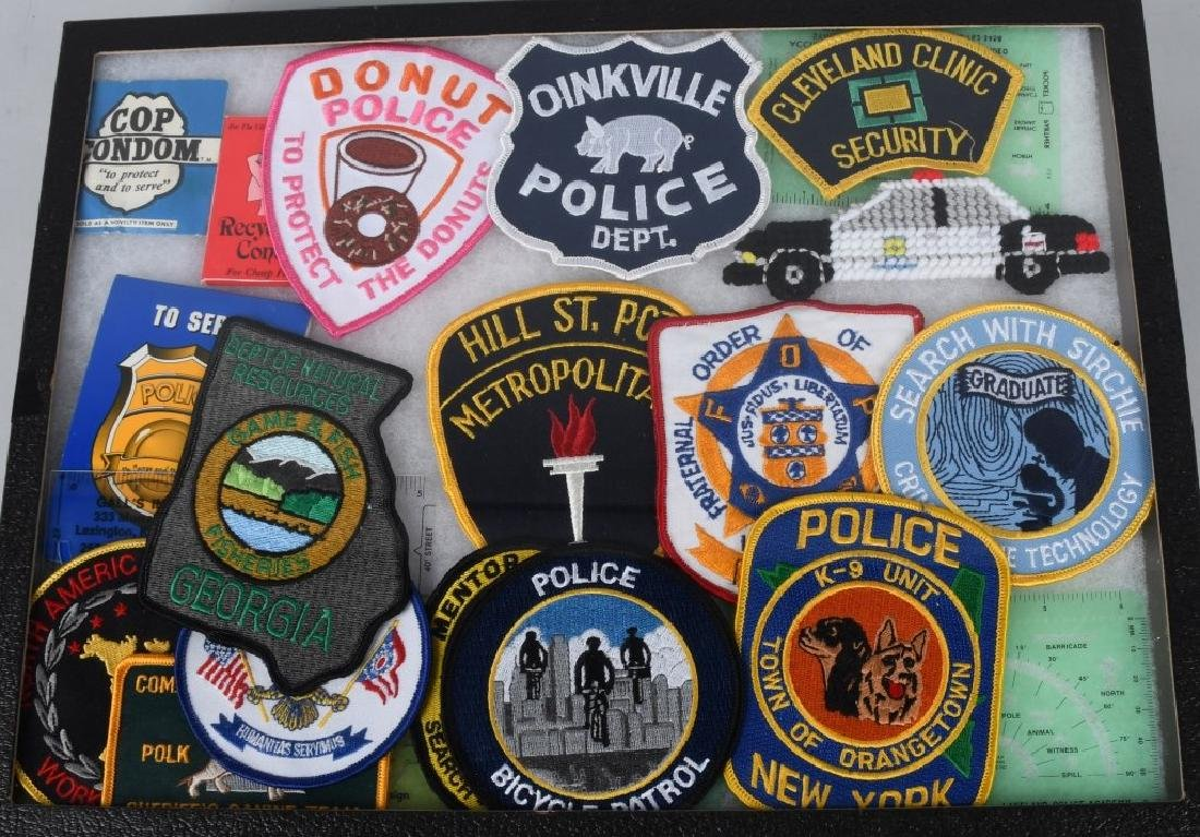 LARGE LOT of LAW ENFORCEMENT PATCHES & MORE - 4