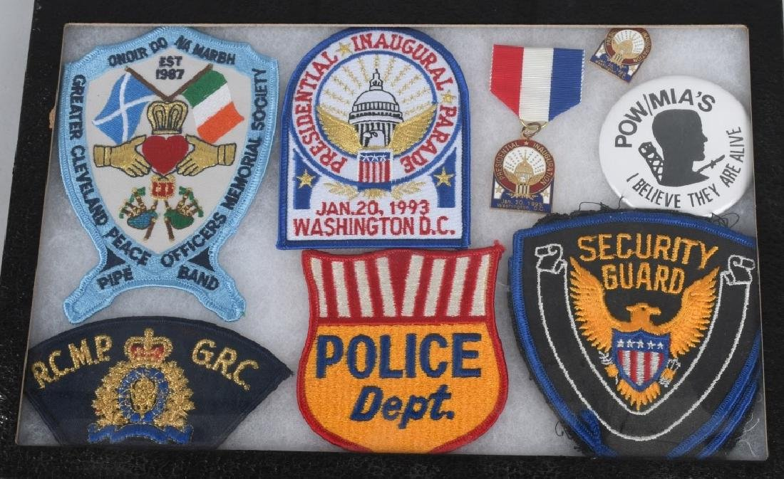LARGE LOT of LAW ENFORCEMENT PATCHES & MORE - 5