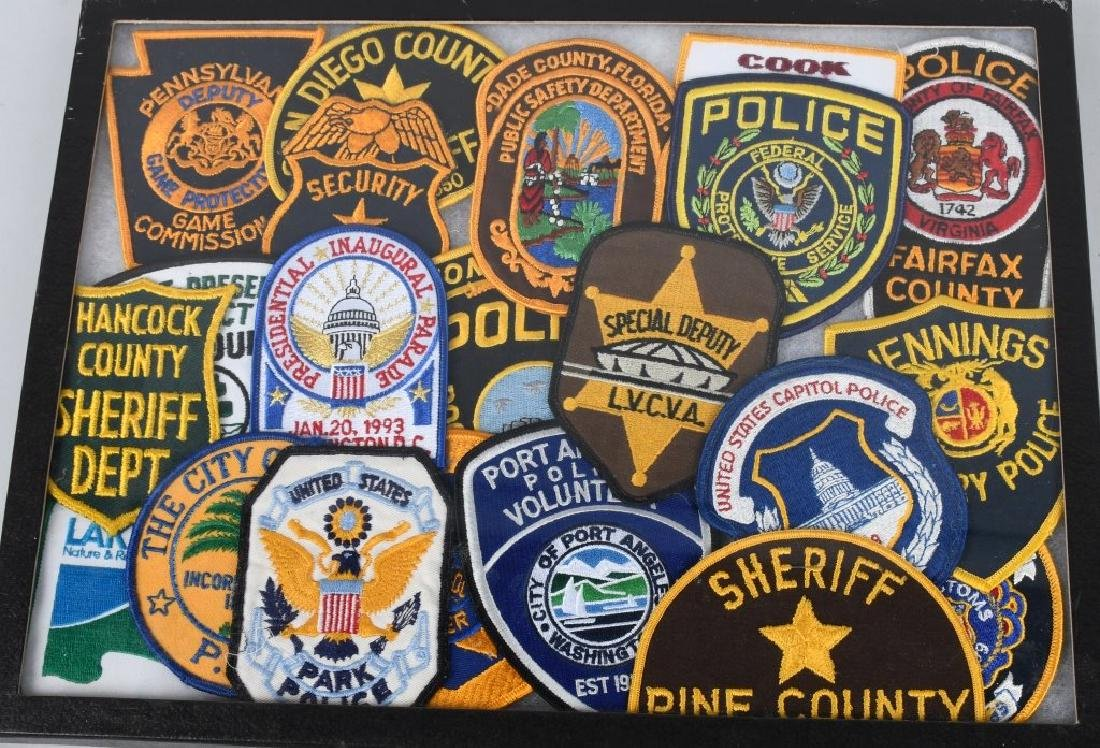 LARGE LOT of LAW ENFORCEMENT PATCHES & MORE - 2