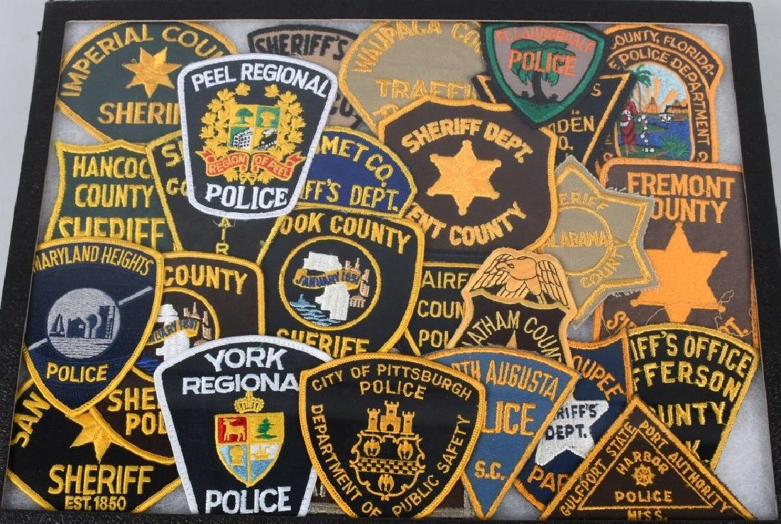 LARGE LOT of LAW ENFORCEMENT PATCHES & MORE - 3