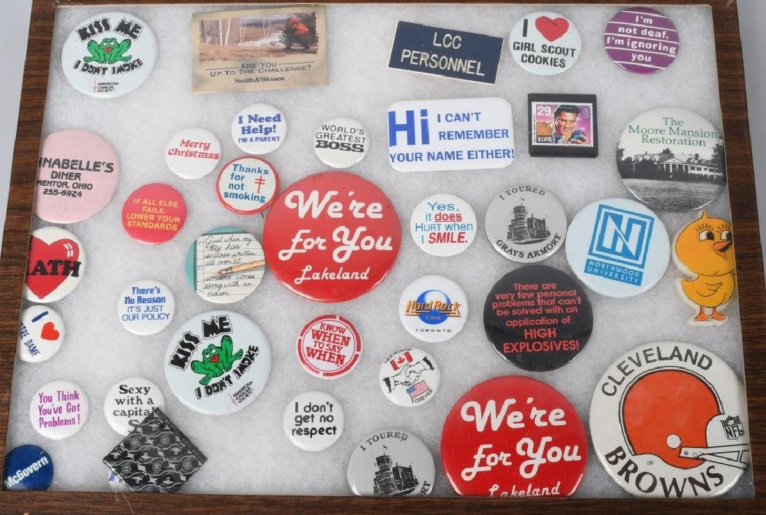 LARGE LOT of SPACE PATCHES & PINBACK BUTTONS - 2