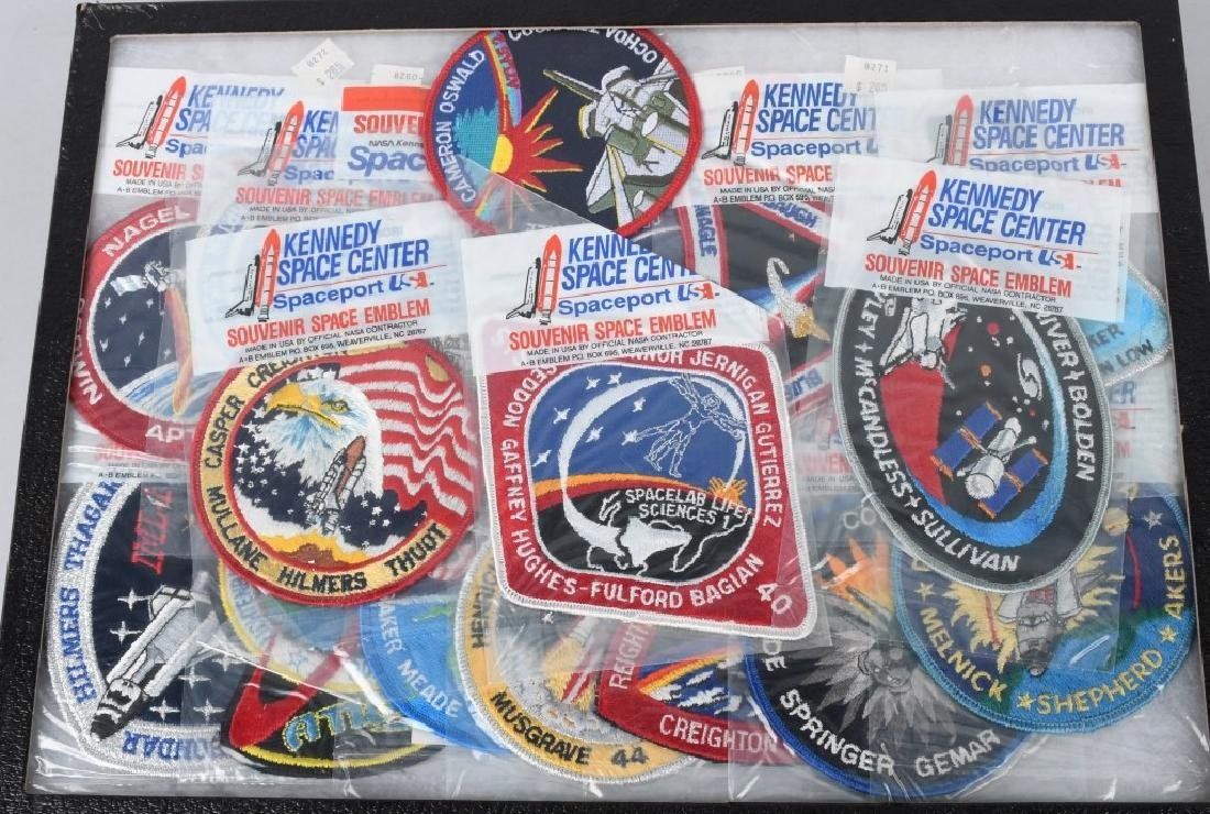 LARGE LOT of SPACE PATCHES & PINBACK BUTTONS - 3