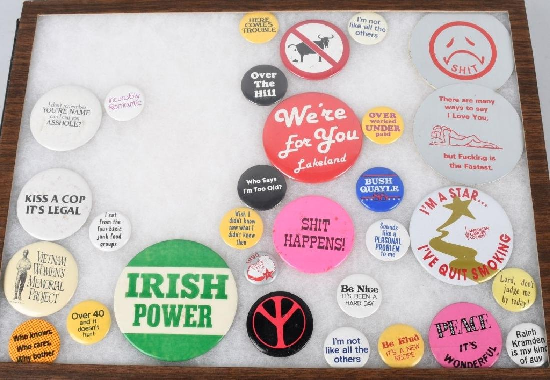 LARGE LOT of SPACE PATCHES & PINBACK BUTTONS - 4