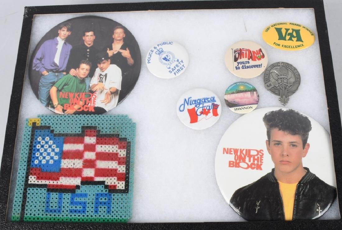 LARGE LOT of SPACE PATCHES & PINBACK BUTTONS - 5