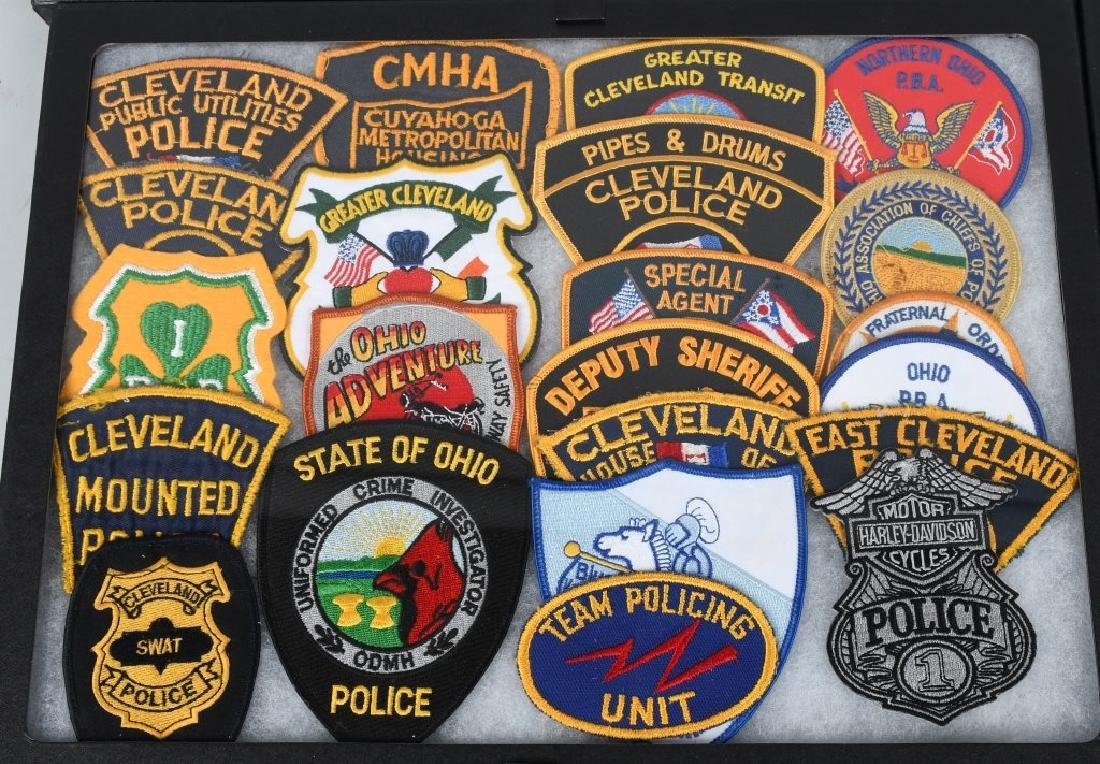 LARGE LOT of LAW ENFORCEMENT PATCHES, & MORE - 2