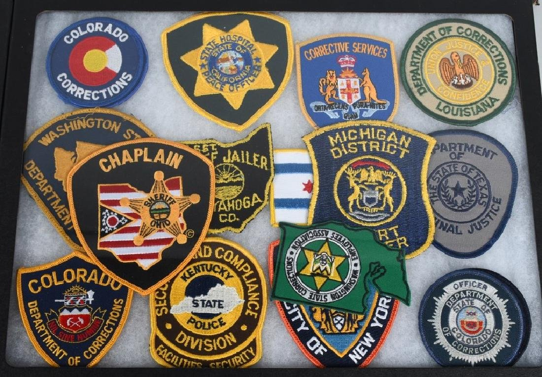 LARGE LOT of LAW ENFORCEMENT PATCHES, & MORE - 3