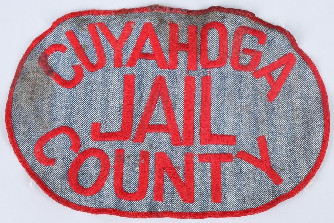 CUYAHOGA COUNTY JAIL INMATE'S WORK UNIFORM PATCH