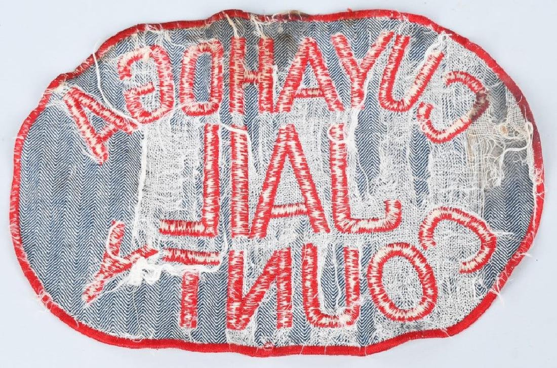 CUYAHOGA COUNTY JAIL INMATE'S WORK UNIFORM PATCH - 2