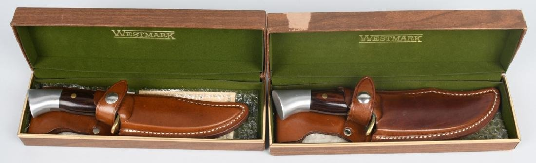 WESTMARK KNIFE LOT MIB M 701 & 702