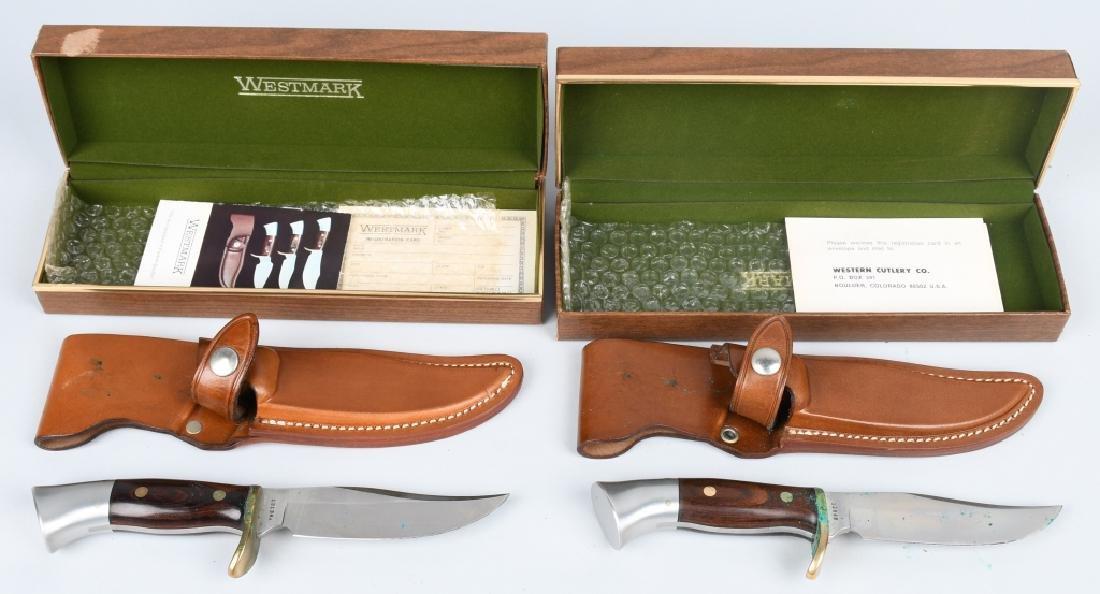 WESTMARK KNIFE LOT MIB M 701 & 702 - 2