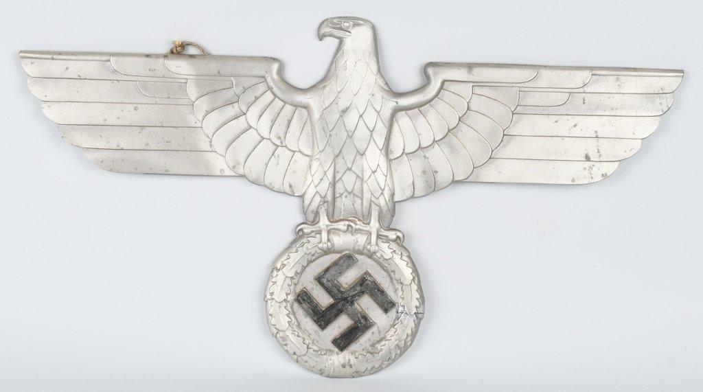 REPRODUCTION NAZI ALUMINUM TRAIN CAR EAGLE