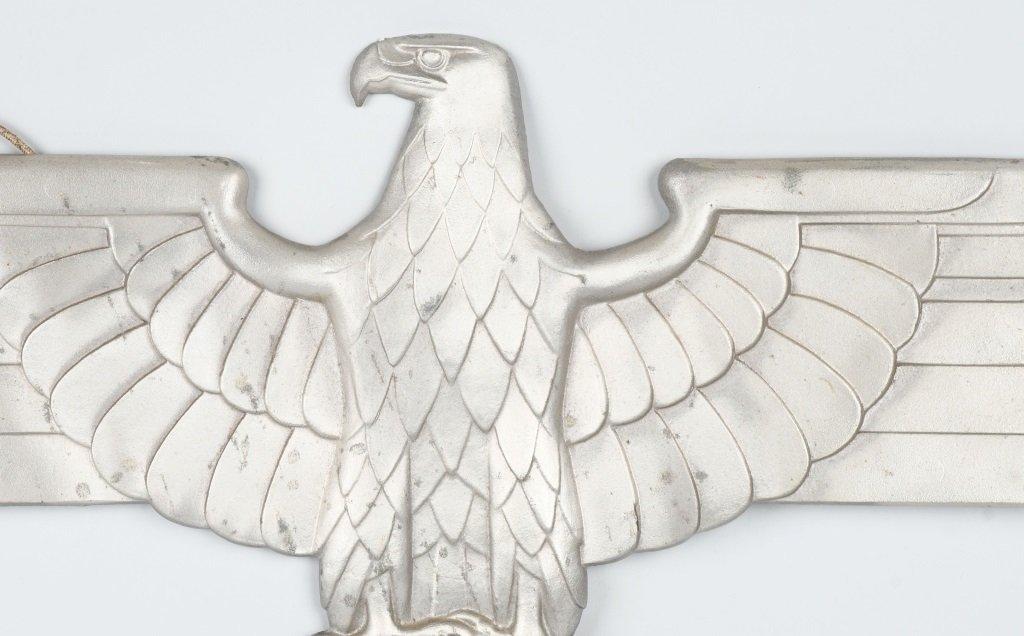 REPRODUCTION NAZI ALUMINUM TRAIN CAR EAGLE - 2