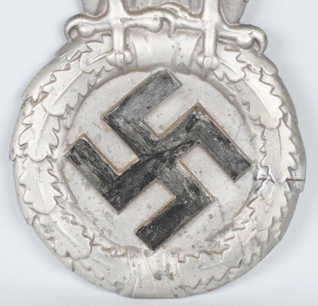 REPRODUCTION NAZI ALUMINUM TRAIN CAR EAGLE - 3