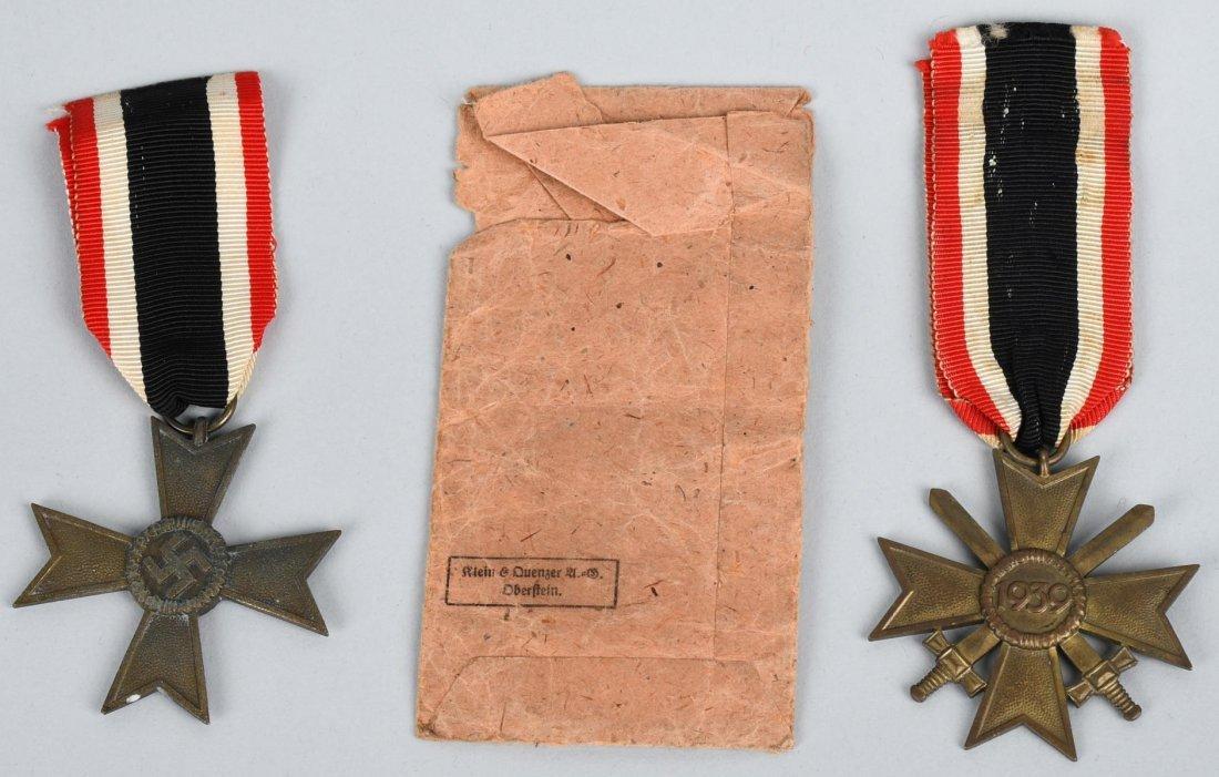 WWII NAZI GERMAN WAR MERIT CROSS LOT - 3