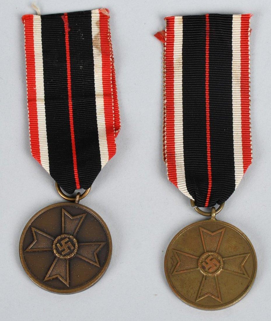 WWII NAZI GERMAN WAR MERIT CROSS LOT - 4