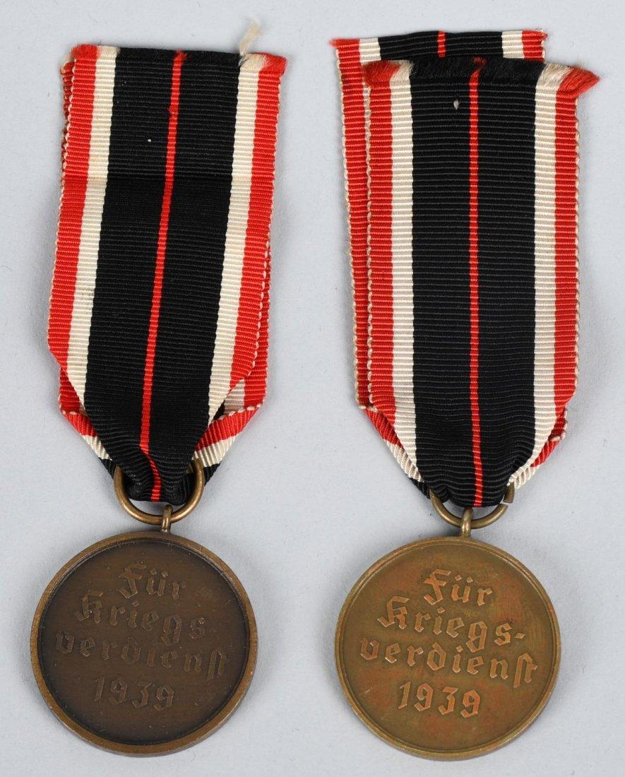 WWII NAZI GERMAN WAR MERIT CROSS LOT - 5